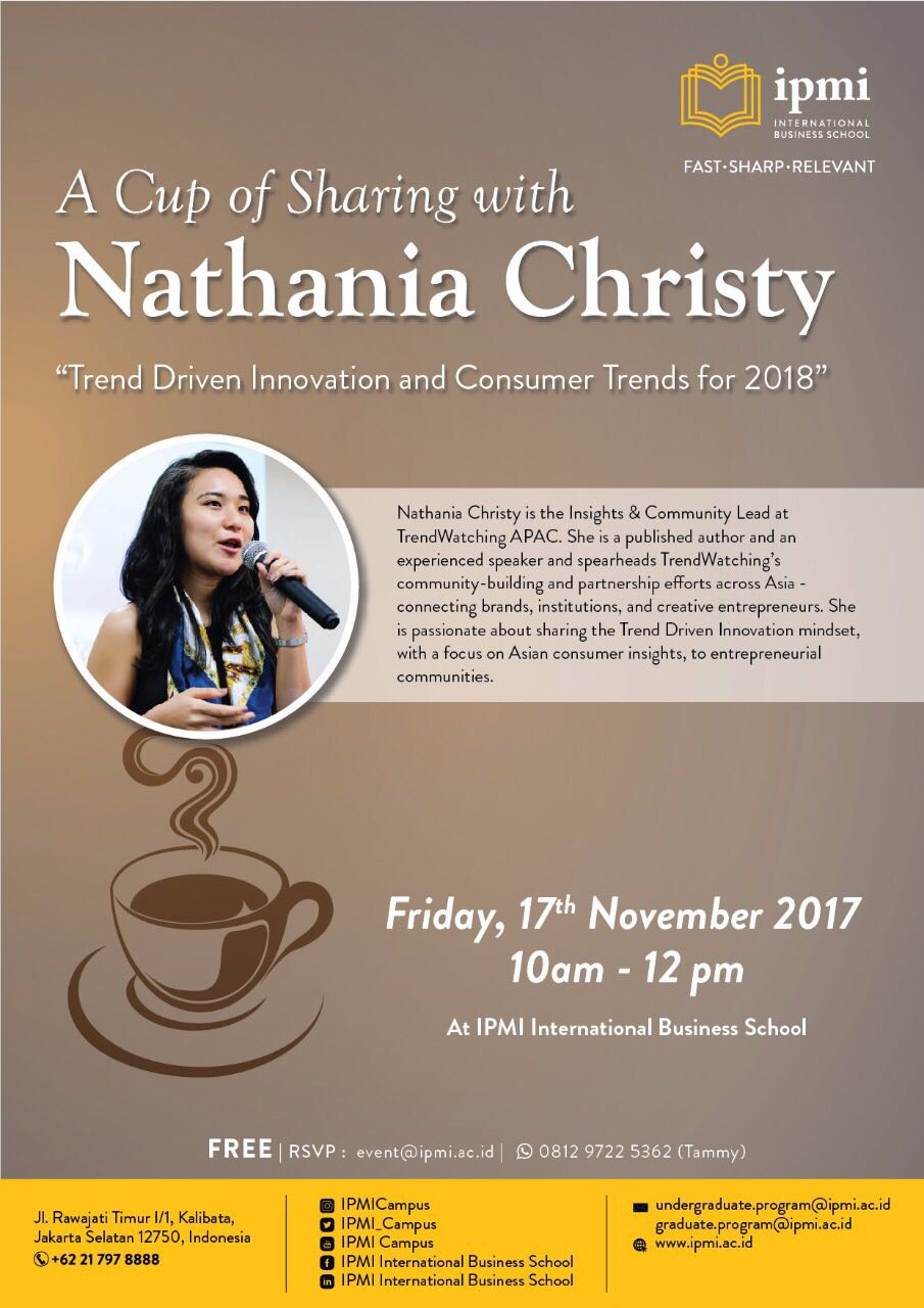 A Cup of Sharing with Nathania Christy