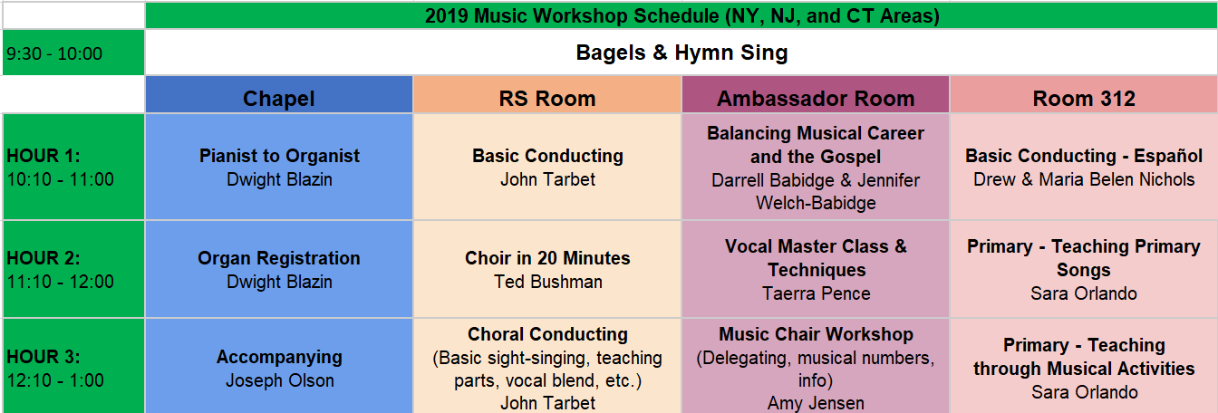 Church Music Workshop Tickets, Sat, Sep 28, 2019 at 9:30 AM