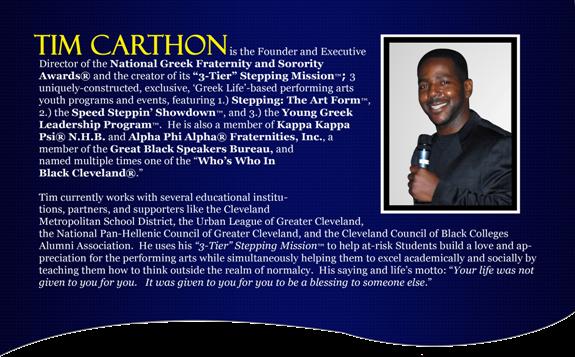 Tim Carthon's Biography