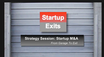 Startup Exits: Early Stage M&A (w/DropBox, eBay, Groupon,...