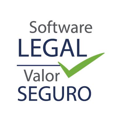 Logo campaña Software Legal