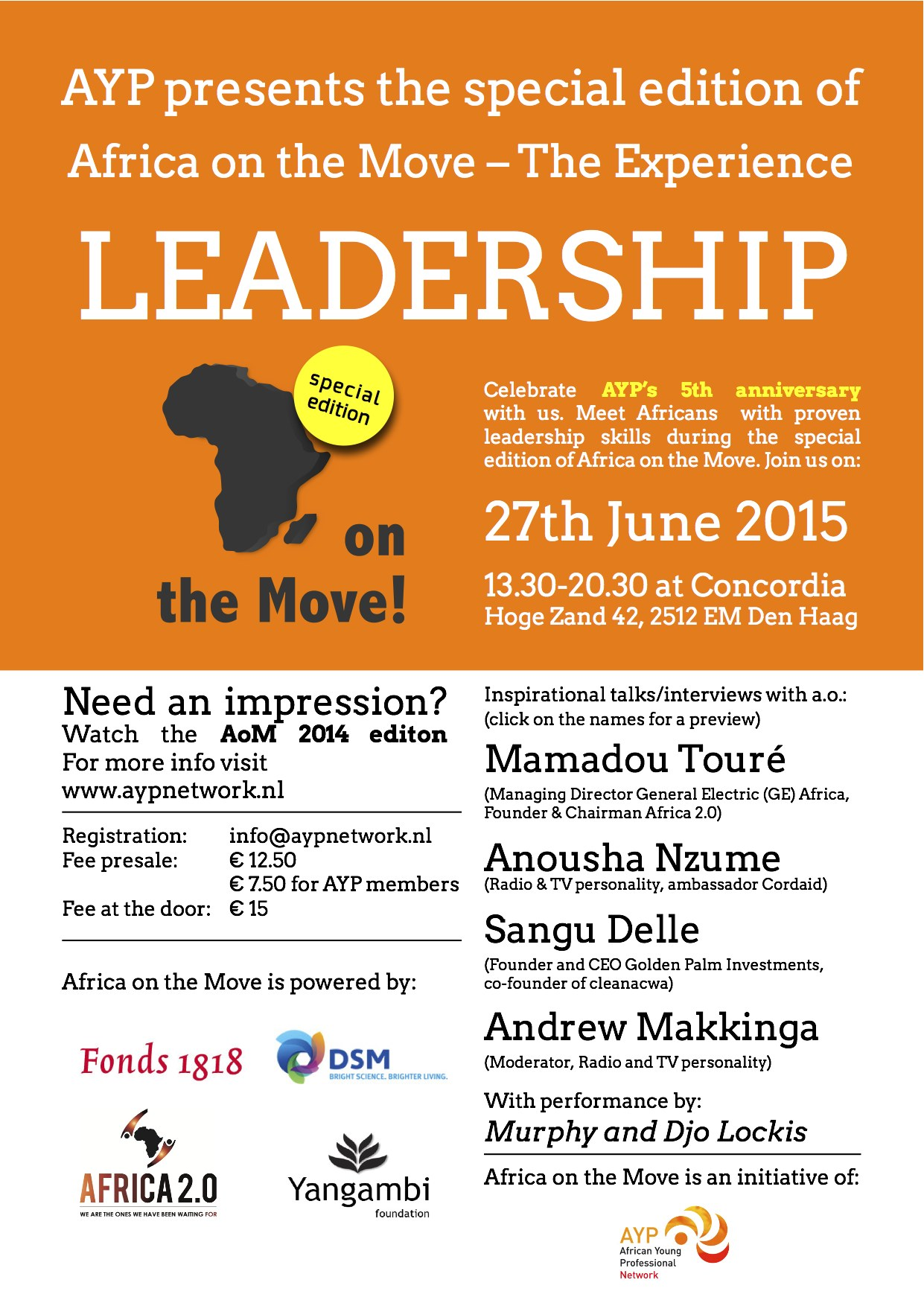 Africa on the Move - The Experience 2015