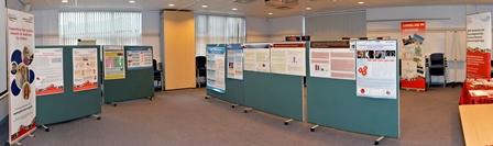 Showcase poster display