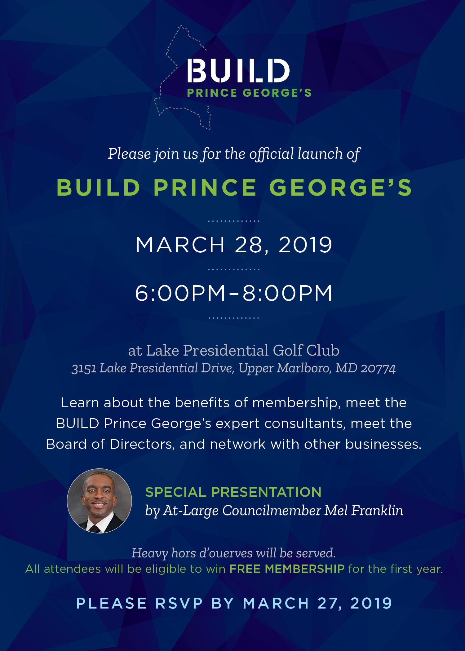 BUILD Prince George's Launch Party