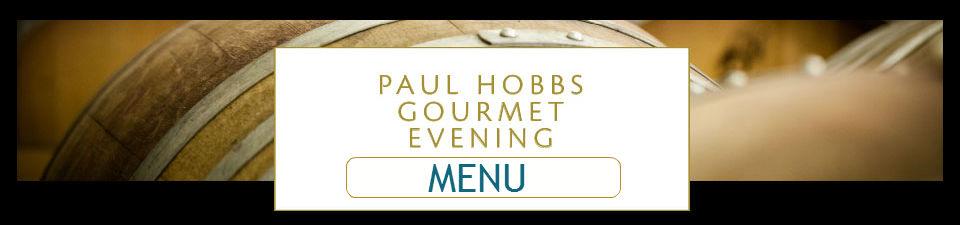 Menu gourmet evening june 10 2015