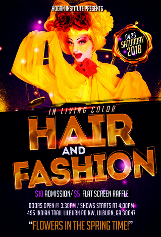 In Living Color Fashion and Hair Show Competition