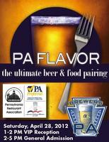 PA Flavor Beer and Food Pairing