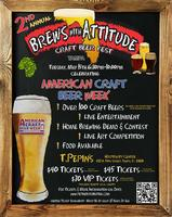 Brews w/ Attitude Craft Beer Fest