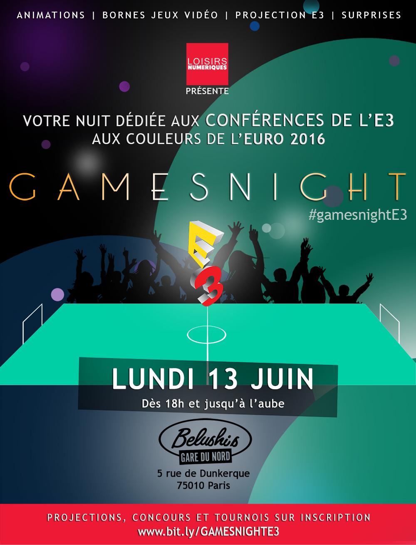 flyer Gamesnight 2016
