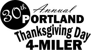 Portland's 30th Annual  Thanksgiving Day 4-Miler