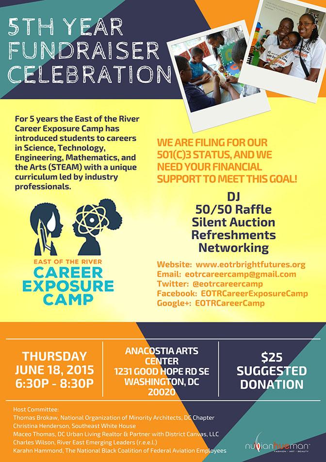 EOTRCEC Fundraiser flyer
