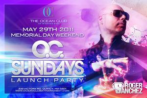 O.C. Sundays:Launch Party w/ Roger Sanchez