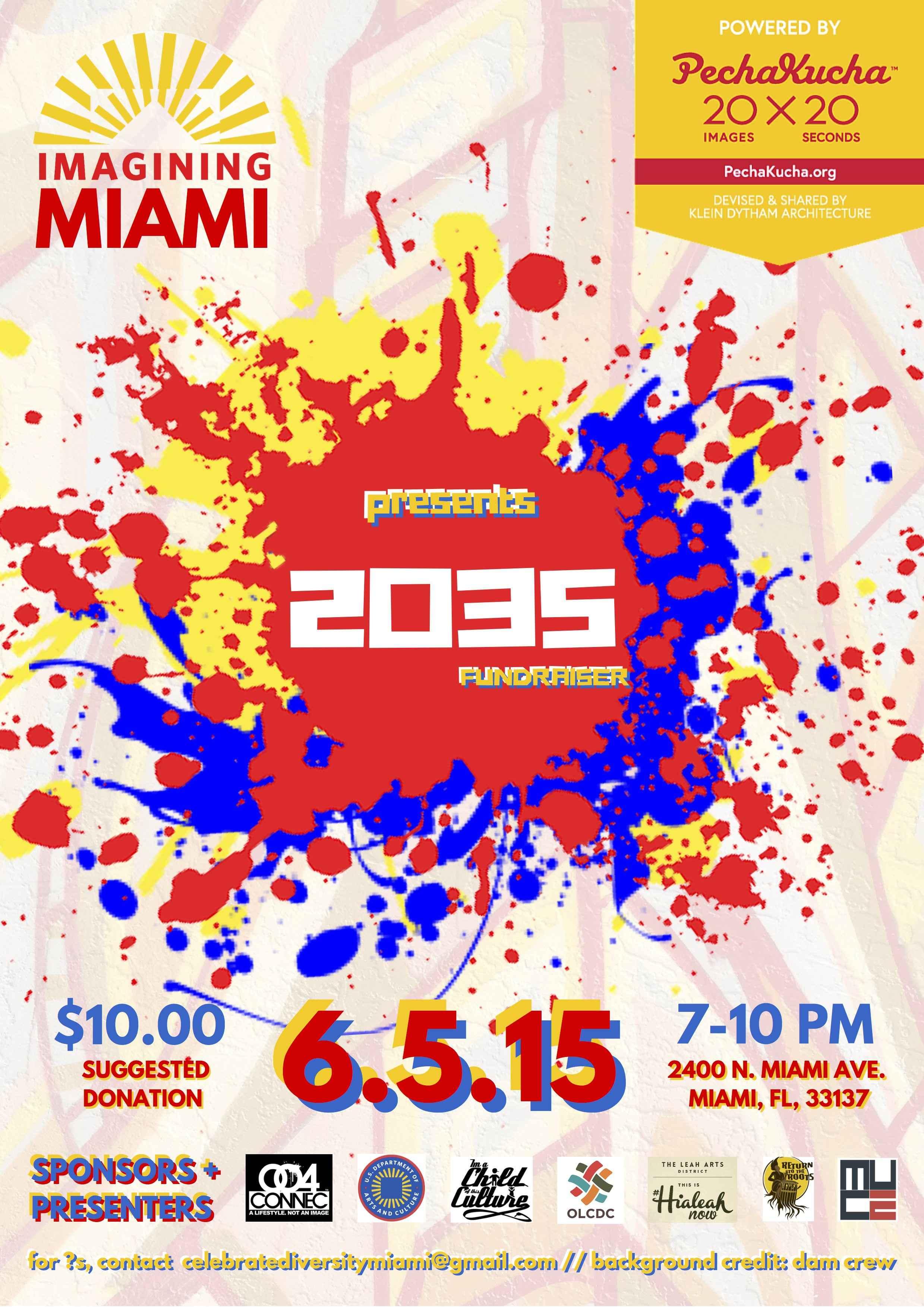 Imagining Miami 2035 PPK Fundraiser
