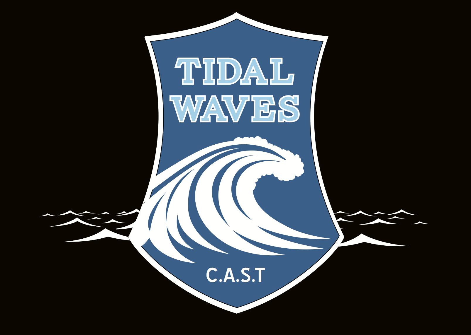CAST Tidal Waves Logo