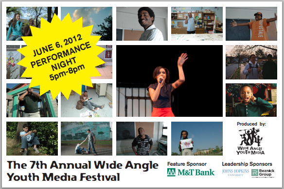7th annual Wide Angle Youth Media Festival
