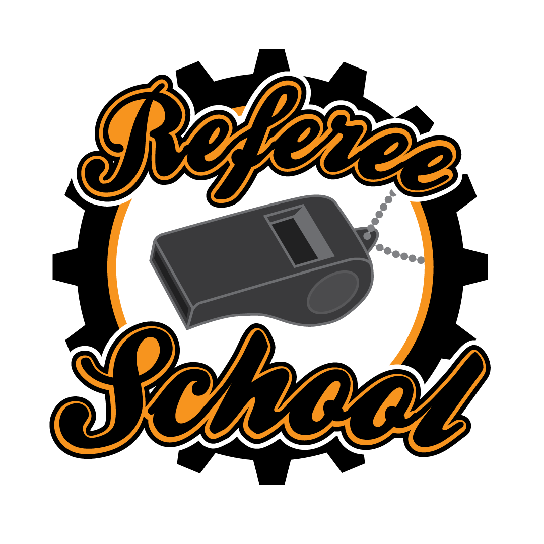 Referee School logo by Claire Brand
