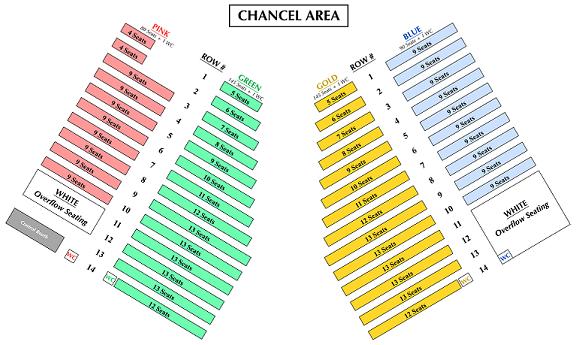 Church Seating Chart