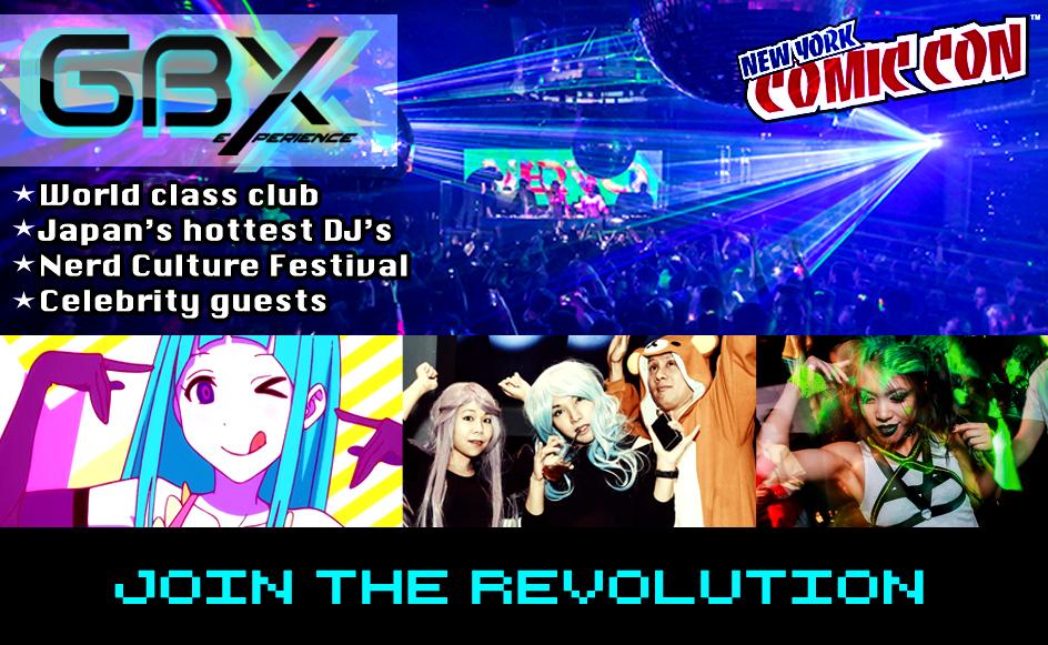 GBX nerd party revolution
