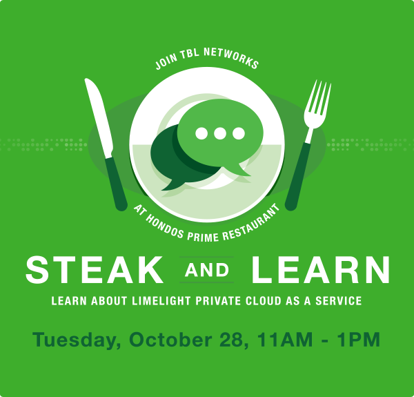 TBL Networks Steak Lunch & Learn - Private Cloud as a Service