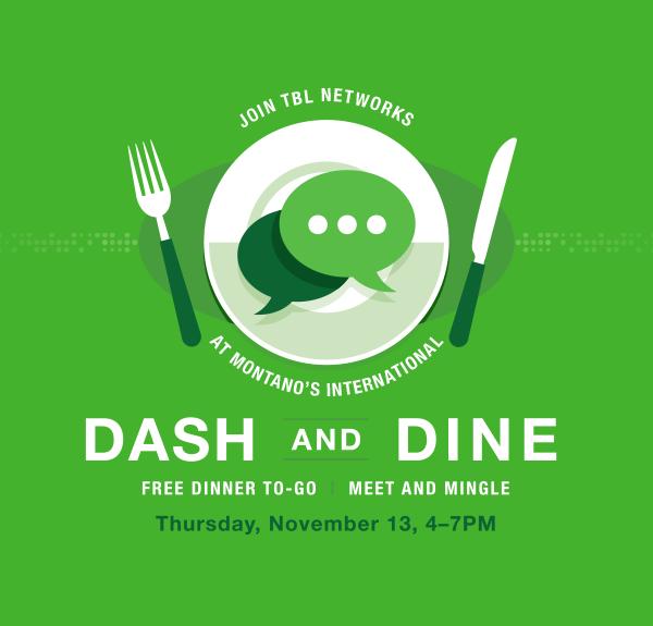 TBL Networks November Dash & Dine Networking Event