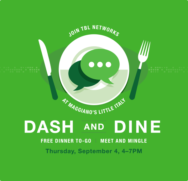 Dine and Dash Event Poster