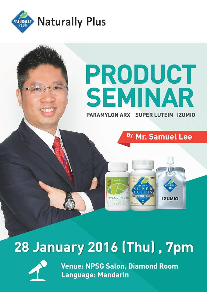 Samuel lee Product Seminar Super Lutein Alces