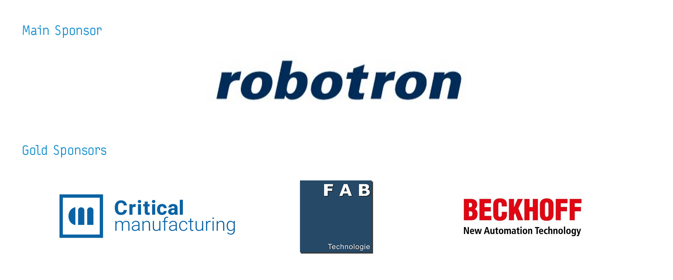 Sponsors of the 17th Innovation Forum