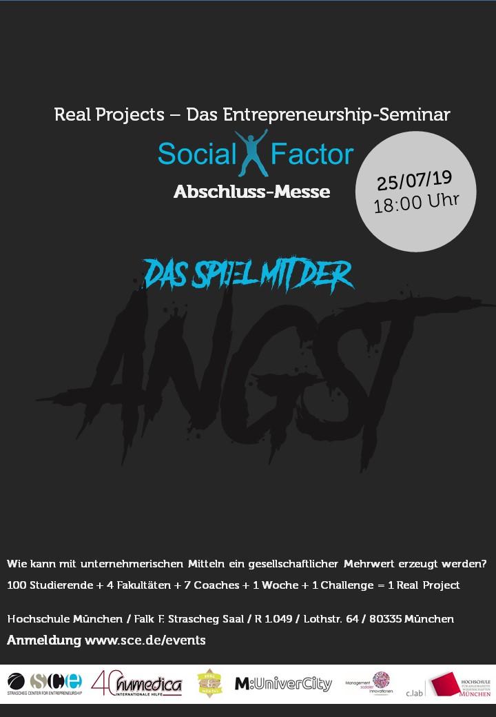 Social-X-Factor 2019 Plakat