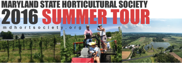 2016 Summer Tour with pictures of orchards