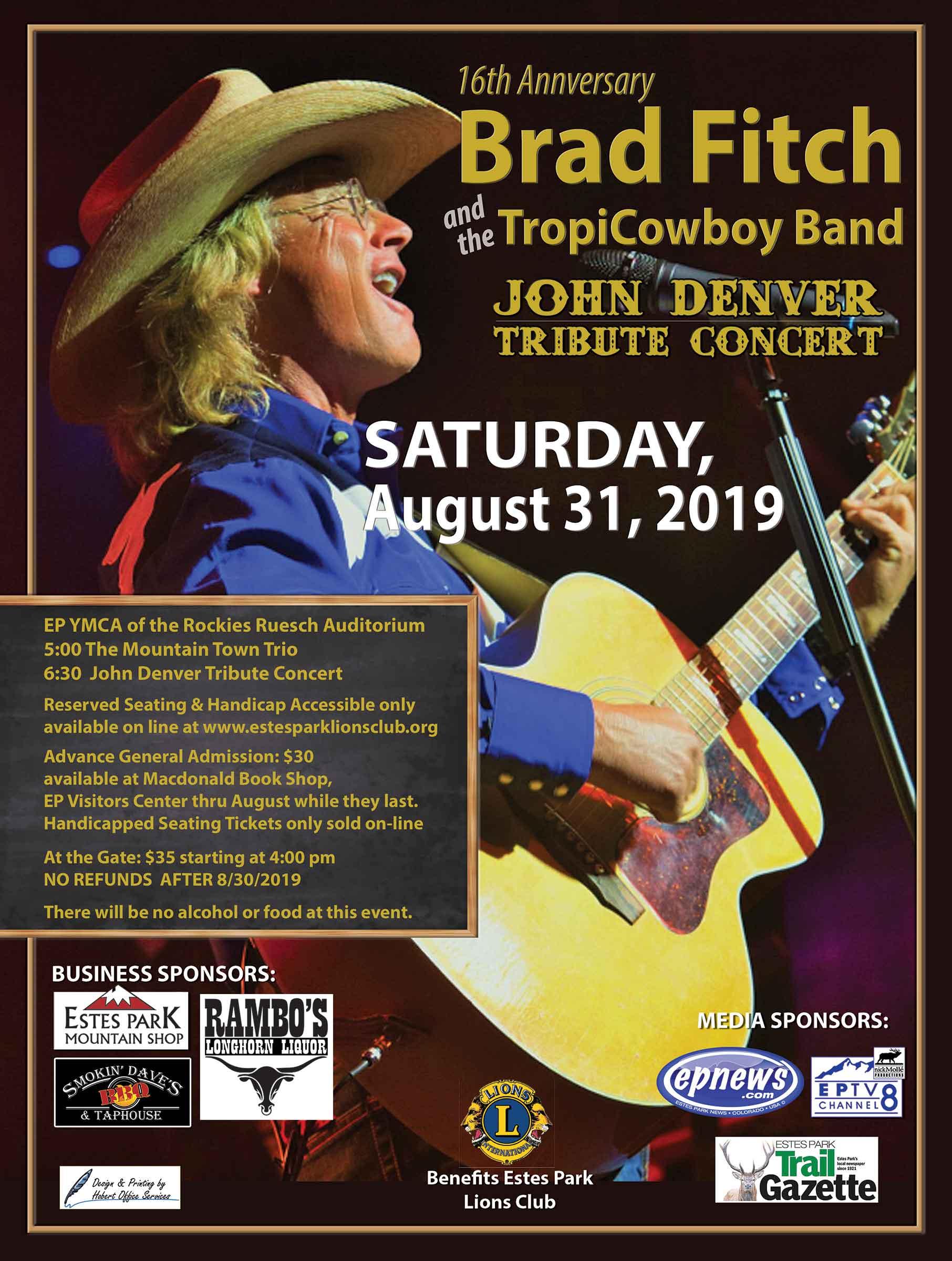 John Denver Tribute Concert Poster