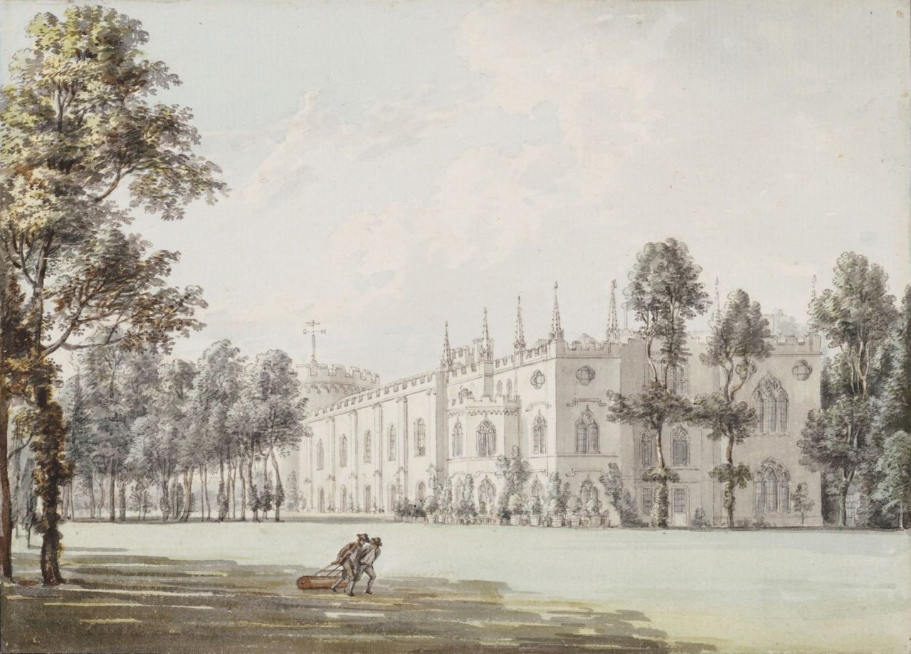 Strawberry Hill, by Paul Sandby (n.d.)