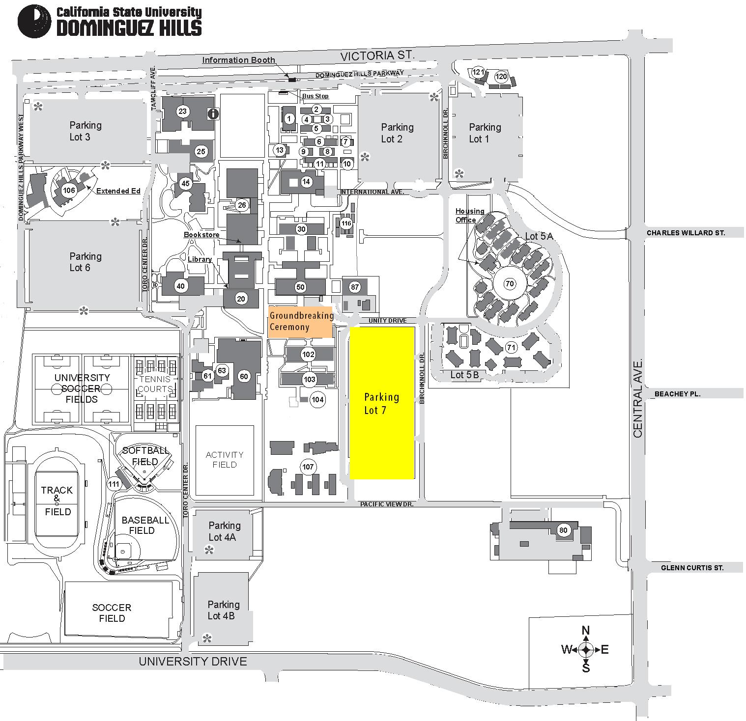 CSUDH Map Lot 7