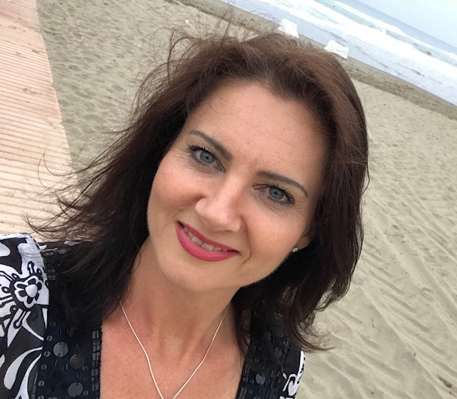 me on beach profile