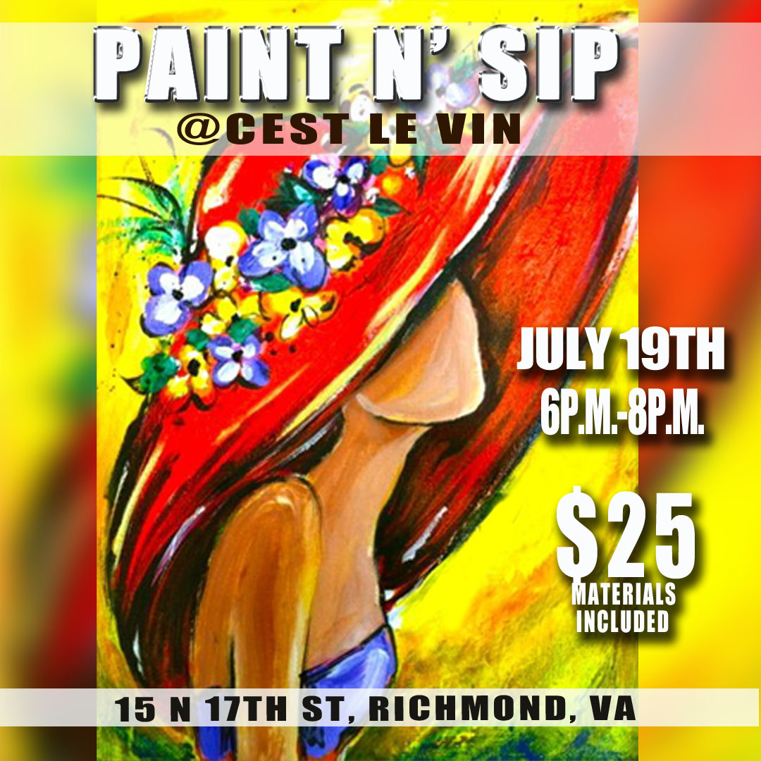 paint sip c 39 est le vin w justin q young tickets wed