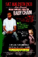 BABY CHAM LIVE AT NEW KARIBBEAN CITY