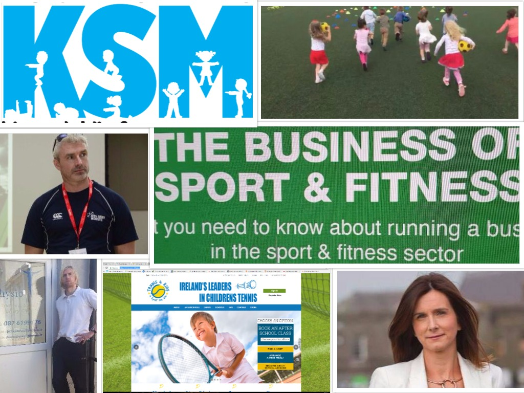 Collection of busineses and people featuring in the Business of Sport organised by StartUp Ballymun