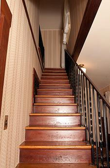 Hidden Stairway at Rancho Los Alamitos