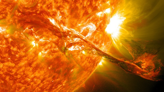 Magnificent CME Erupts on the Sun - August 31