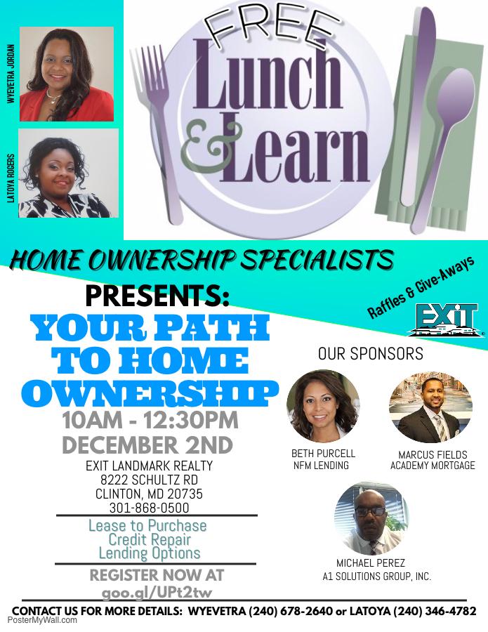 Free Lunch & Learn Flyer