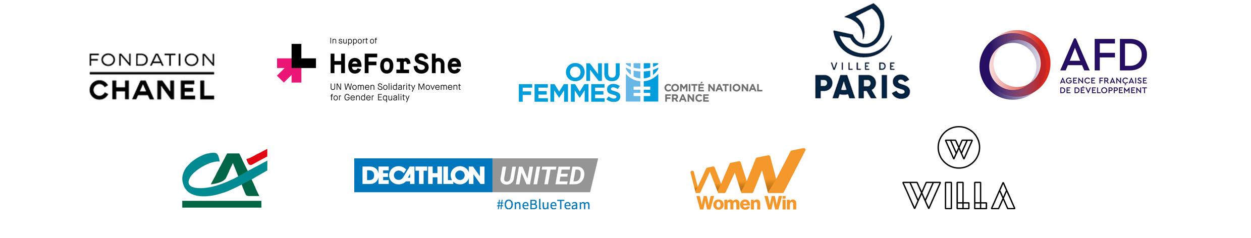 Logos des partenaires de la conférence