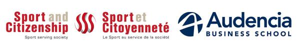 Logo Sport et Citoyenneté et Audencia Business School
