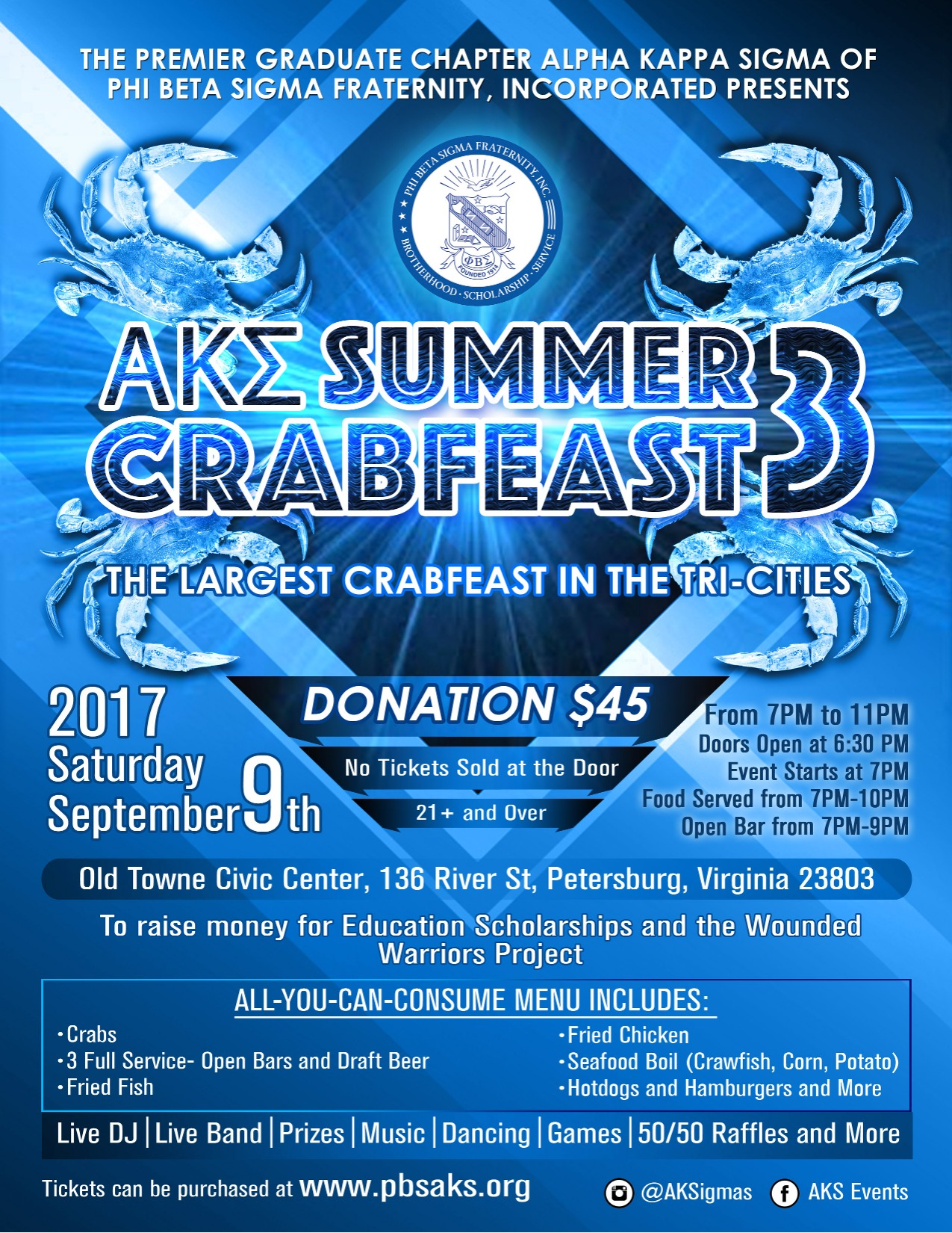 PBSAKS Crab Feast 3