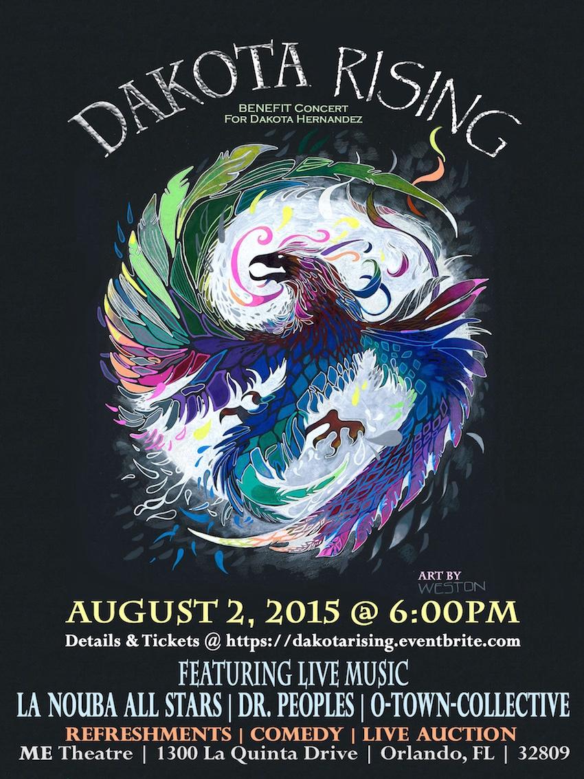 dakota rising poster