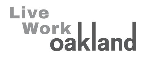 Live Work Oakland logo