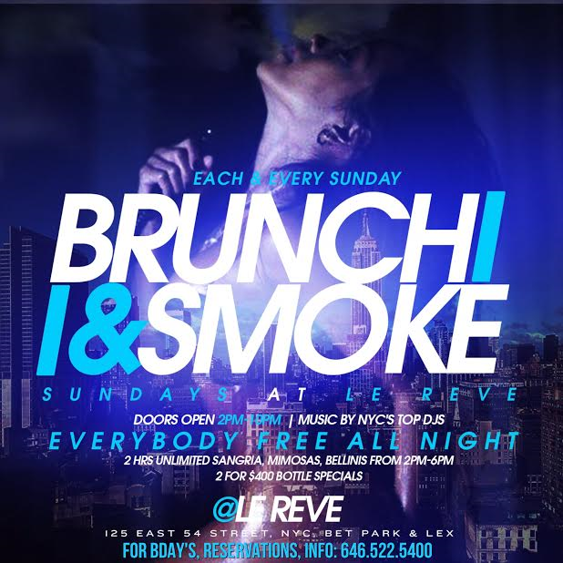 Brunch N Smoke Flyer