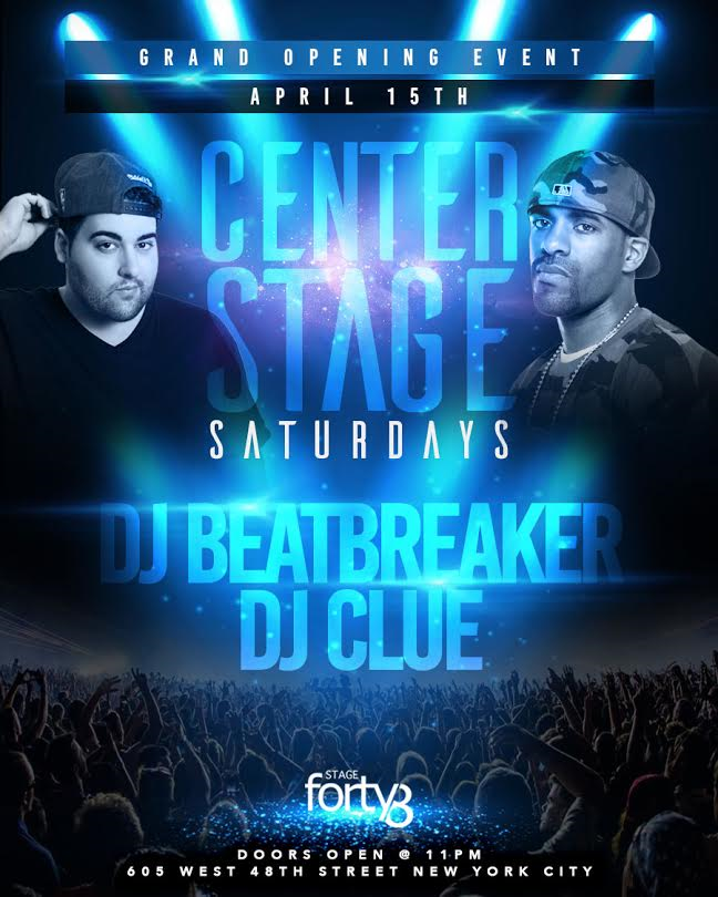 Stage 48 Generic Flyer