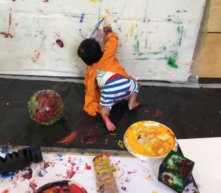 Messy play day