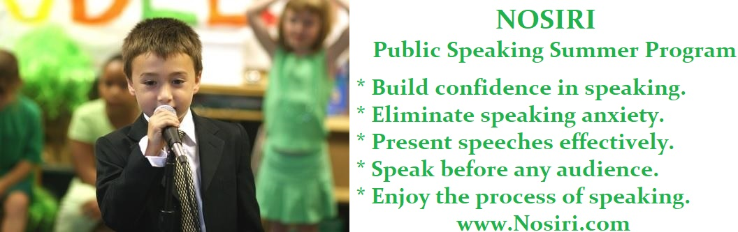 Public Speaking Kids Classes