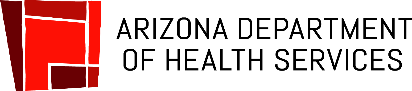 Full color logo for the Arizona Department of Health Services