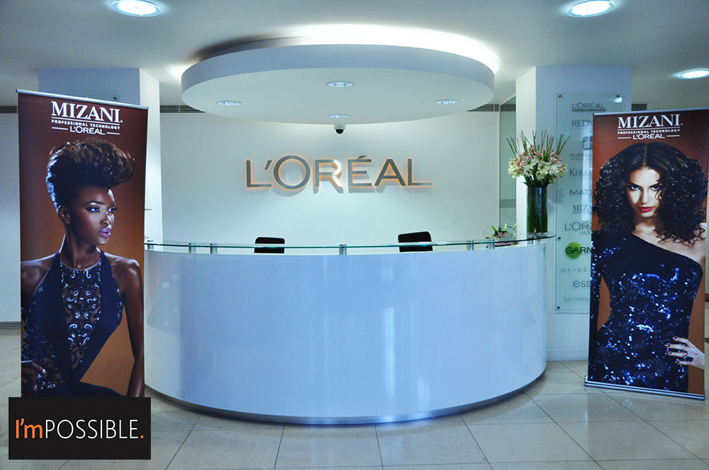 L'Oreal UK headquarters, home of Mizani UK